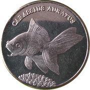 5 Rupees (Carassius auratus) – reverse