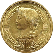 1 ECU (Europa; 12 countries) – obverse