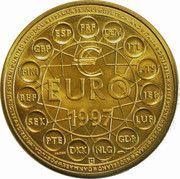 1 Euro (Europa; 15 countries; bronze vénitien) – reverse
