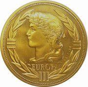 ECU (Europa; 12 countries; bronze vénitien) – obverse