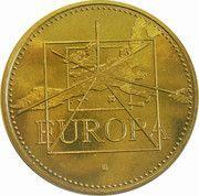 1 ECU / Euro (Europa; 15 countries; bronze vénitien) – obverse