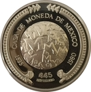 Medal - Mexico Mint (445th Anniversary) – reverse