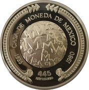 Mexico Mint 445th Anniversary – reverse
