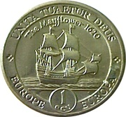 1 ECU (Mayflower) -  reverse