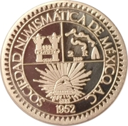 Mexican Numismatic Society – obverse