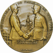 Medal - Liberation of Paris (40th anniversary) – obverse