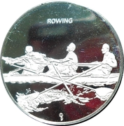 Munich Olympics - Rowing – obverse