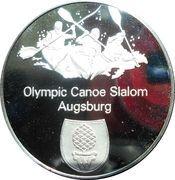 Munich Olympics - Canoe Slalom – obverse