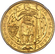 3 Dukáty (1000 years of Christianity in Bohemia) – obverse