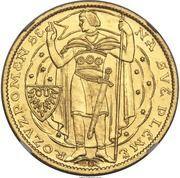 5 Dukátů (1000 years of Christianity in Bohemia) – obverse