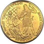 3 Dukáty (St. Wenceslaus) – reverse