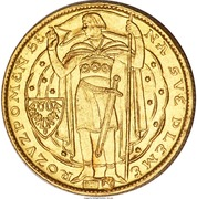 1 Dukát (1000 years of Christianity in Bohemia) – obverse
