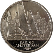 2 ECU - Beatrix (Sail '95 Amsterdam - Friese Tjotters) -  reverse