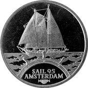 2 ECU - Beatrix (Sail '95 Amsterdam - Eendracht I) -  reverse