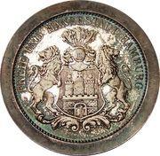 "Medal - City Hamburg ""Wapen von Hamburg"" – reverse"