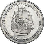 Medal - St Pauli (Hamburg) – reverse