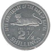 2½ Shillings – obverse