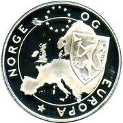 25 Euro - Harald V (Norwegian Forest cat) – obverse