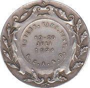medaille musi sacrum – reverse