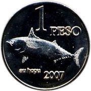 1 Peso (Bonito Fish) – reverse