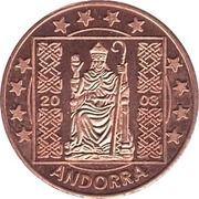 5 (Andorra Euro Fantasy Token) – obverse