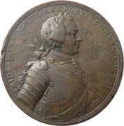 Seven Years War Battle of Prague Medal – obverse