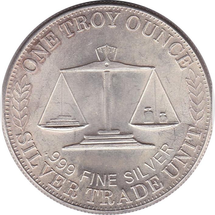 1 Oz Silver Northwest Territorial Mint