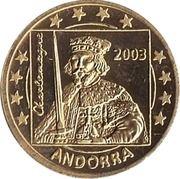 10 Cent (Andorra Euro Fantasy Token) – obverse