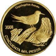 50 000 Pesos (Onychoprion Fuscatus) – reverse