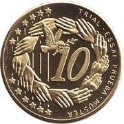 10 Cent (Andorra Euro Fantasy Token) – reverse
