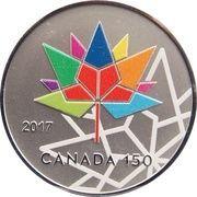 1 oz Silver (TD Bank Canada 150) – obverse