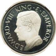 Sovereign - Edward VIII (silver) – obverse