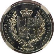 ¼ oz Silver (Gold Sovereign) – reverse