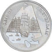 1 ECU - Beatrix (Sail '95 Amsterdam) -  reverse