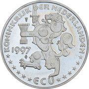 1 ECU (Nederland Waterland) -  obverse