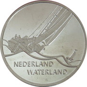 1 ECU (Nederland Waterland) -  reverse