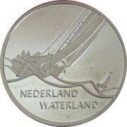 1 ECU (Nederland Waterland) -  reverse