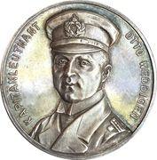 Medal - WWI Kapitänleutnant Otto Eduard Weddigen – obverse
