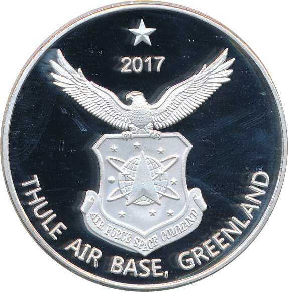 1 Dollar Thule Air Base Greenland Exonumia Numista