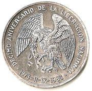 ½ Onza (National Liberation) -  reverse