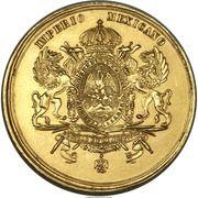 Medal - Maximilian and Carlota – reverse