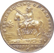Frederick King of Prussia - Defender of the Protestants – obverse