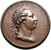 Medal - George III - Captain Cook – obverse