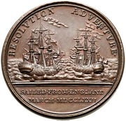 Medal - George III - Captain Cook – reverse
