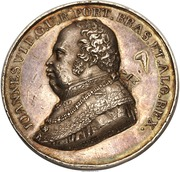 Joao VI - Ruler of the united Kingdoms of Portugal and Brazil – obverse