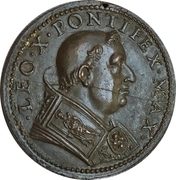 Liberalitas Pontificia - Pope Leo X – obverse