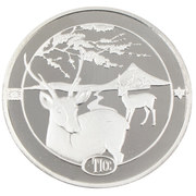 Medal (Tokyo International Coin Convention) – reverse