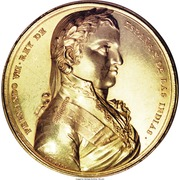 Medal - Ferdinand VII - Proclamation - Potosi – obverse