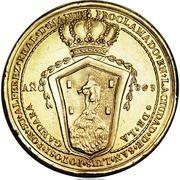 Medal - Ferdinand VII - Proclamation - Potosi – reverse