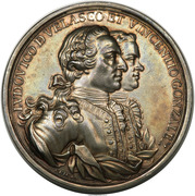 Medal - Capture of the Morro Castle Havana Cuba – obverse